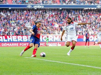 Enzo Crivelli a inscrit le premier but caennais depuis près de 500 minutes en Ligue 1. Pas suffisant toutefois p    Sylvain Letouzé