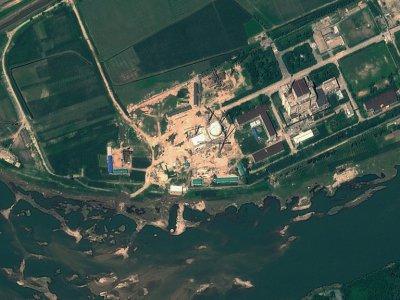 Image satellite du complexe nucléaire de Yongbyon, le 6 août 2012 en Corée du Nord    HO [GeoEye Satellite Image/AFP/Archives]