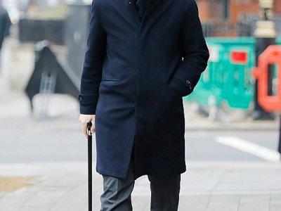 Alexandre Djouhri, le 21 janvier 2019 à Londres - Tolga AKMEN [AFP/Archives]