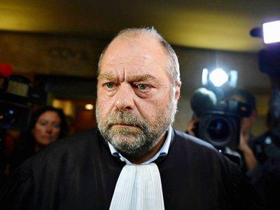 Eric Dupond-Moretti, un des avocats d'Alexandre Djouhri, ici le 17 octobre 2018 à Aix-en-Provence - GERARD JULIEN [AFP/Archives]