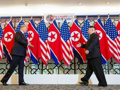 Donald Trump et Kim Jong Un se retrouvent à Hanoï pour leur deuxième sommet - Saul LOEB [AFP]
