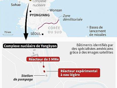 Site nucléaire nord-coréen de Yongbyon - [AFP]