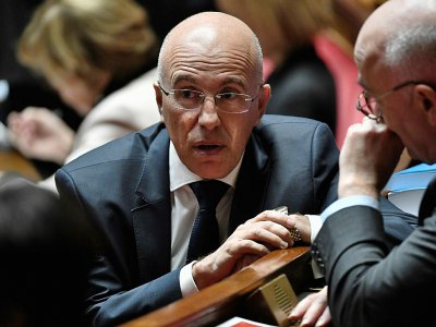 Le député LR Eric Ciotti à l'Assemblée nationale, le 15 janvier 2019 à Paris - STEPHANE DE SAKUTIN [AFP/Archives]