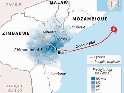Le cyclone Idai - Vincent LEFAI [AFP]