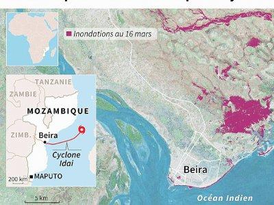 Mozambique: Beira dévastée par le cyclone - Vincent LEFAI [AFP]