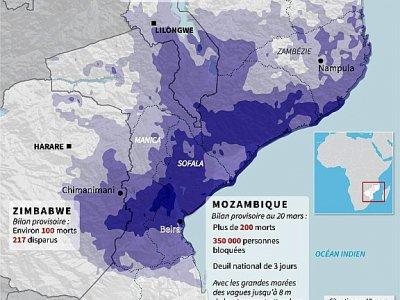 Inondations en Afrique - [AFP]