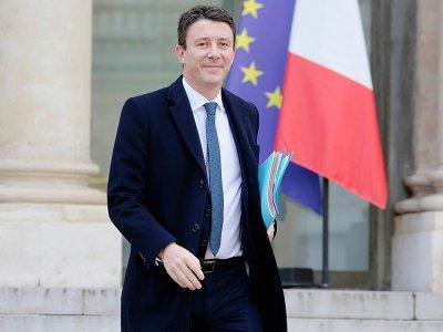 Le porte-parole du gouvernement Benjamin Griveaux, le 20 février 2019 à l'Elysée, à Paris    LUDOVIC MARIN [AFP/Archives]