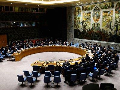 Réunion du Conseil de sécurité de l'ONU, le 26 février 2019 à New York    Johannes EISELE [AFP/Archives]