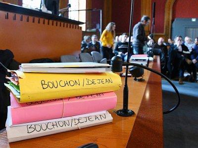A la cour d'assises de Haute-Garonne avant l'ouverture du procès, le 14 mars 2019    PASCAL PAVANI [AFP/Archives]