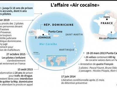 L'affaire «Air cocaïne»    V. Beschi/P. Defosseux, pld/fh [AFP]