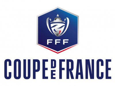 Logo de la Coupe de France, à Paris, le 30 octobre 2018