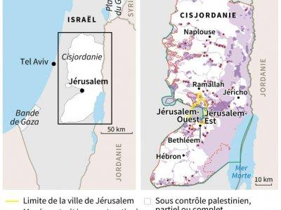 Israël et la Cisjordanie    AFP [AFP]