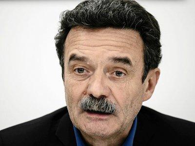 Le directeur de publication de Médiapart, Edwy Plenel, lors d'une conférence de presse à Paris le 4 février 2019    Philippe LOPEZ [AFP/Archives]