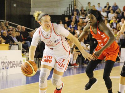 Shona Thorburn inscrit 22 points et termine MVP, mardi 30 avril 2019 face à Villeneuve-d'Ascq.