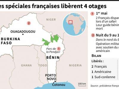 L'armée française libère 4 otages - [AFP]