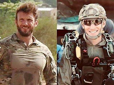 Les militaires français Cédric de Pierrepont et Alain Bertoncello tués lors de l'opération de libération des otages au Burkina Faso - HO [MARINE NATIONALE/AFP]