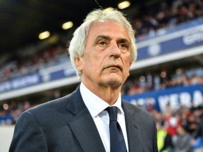 L'entraîneur bosnien de Nantes, Vahid Halilhodzic, lors du match de Ligue 1 face à Montpellier, à La Mosson, le 18 mai 2019 - Pascal GUYOT [AFP/Archives]
