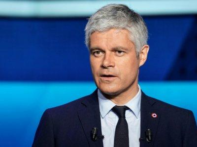 Le patron de LR, Laurent Wauquiez participait au débat de France 2 à Saint-Cloud, le 22 mai 2019 - Lionel BONAVENTURE [AFP]