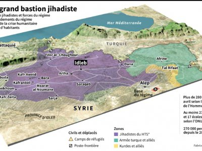 Idleb, l'ultime grand bastion jihadiste