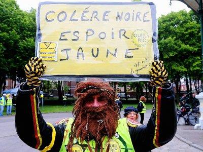 """Manifestation de """"gilets jaunes"""", à Amiens, le 25 mai 2019 - FRANCOIS NASCIMBENI [AFP/Archives]"""