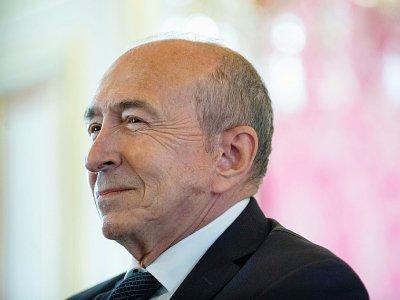 Gérard Collomb à l'Hôtel de Ville de Lyon, le 17 octobre 2018    ROMAIN LAFABREGUE [AFP/Archives]