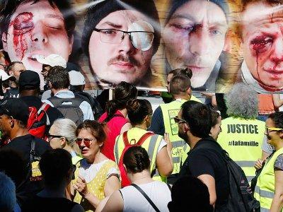 Marche contre les violences policières, à la Bastille, le 2 juin 2019    FRANCOIS GUILLOT [AFP/Archives]
