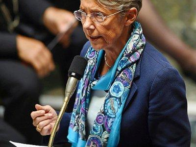 La ministre des Transports Elisabeth Borne, à Paris, le 4 juin 2019    Lucas BARIOULET [AFP]