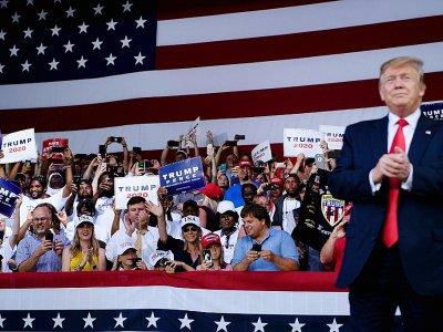 Le président américain Donald Trump lors d'un meeting à Panama City Beach, le 8 mai 2019 en Floride    Brendan Smialowski [AFP/Archives]