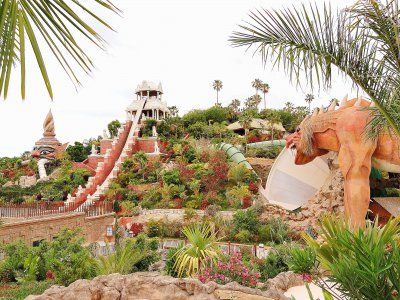 La Tower of Power du Siam Park à Tenerife