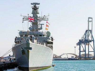 Le HMS Montrose de la marine britannique, le 3 février 2014 dans le port de Limassol, à Chypre    - [AFP/Archives]