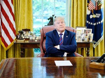 Donald Trump, le 26 juillet 2019 à la Maison Blanche - Brendan Smialowski [AFP]