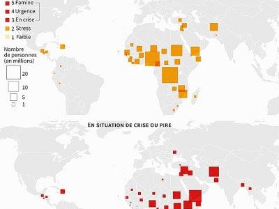 Pénuries alimentaires dans le monde    Thomas SAINT-CRICQ [AFP]
