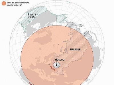 Armes nucléaires : le traité INF    Sabrina BLANCHARD [AFP/Archives]