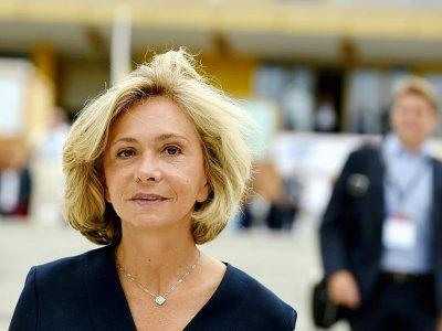La présidente de la région d'Ile-de-France, Valérie Pécresse, à Paris, le 29 août 2019 - ERIC PIERMONT [AFP]