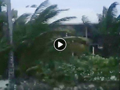 Capture d'écran obtenue le 1er septembre 2019 auprès de Rich Roberts montre Man-O-War Cay, sur les îles Abacos aux Bahamas    Rich ROBERTS [Rich ROBERTS/AFP]