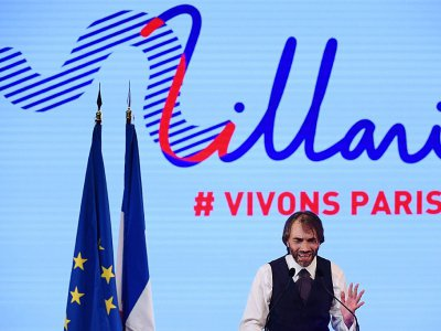 Cédric Villani en meeting à Paris le 4 juillet 2019