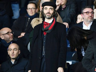 Cédric Villani assiste à un match PSG-OM le 17 mars 2019 au Parc des Prince - FRANCK FIFE [AFP/Archives]