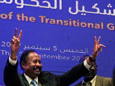 Le 5 septembre 2019 à Khartoum, le Premier ministre soudanais dévoile son gouvernement, le premier post-Béchir    Ebrahim HAMID [AFP]