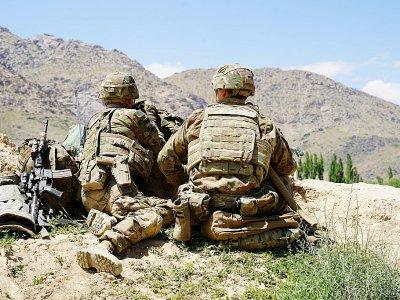 Des soldats américains dans la province afghande de Wardak, le 6 juin 2019    THOMAS WATKINS [AFP/Archives]
