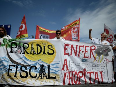 Manifestation pour réclamer des moyens pour les urgences le 11 septembre 2019 à Paris    Philippe LOPEZ [AFP]