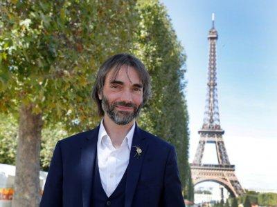 Cédric Villani, candidat à la mairie de Paris, le 6 septembre 2019 à Paris    FRANCOIS GUILLOT [AFP/Archives]