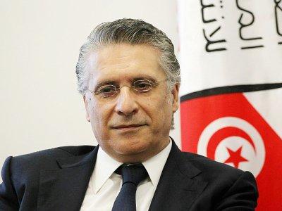 Nabil Karoui à Tunis le 2 août 2019    Hasna [AFP/Archives]