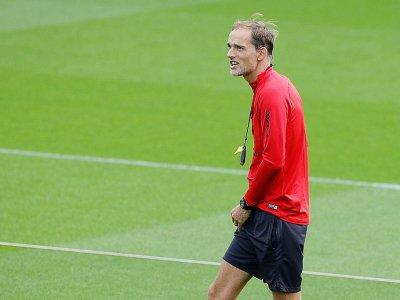 Thomas Tuchel, l'entraîneur allemand du PSG, le 17 septembre 2019 à Saint-Germain-en-Laye (banlieue parisienne)    GEOFFROY VAN DER HASSELT [AFP]