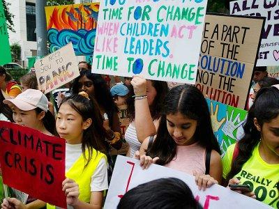 Grève de l'école le 20 septembre 2019 à Bangkok    Dene CHEN [AFP]