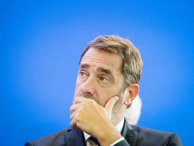 Le ministre de l'Intérieur, Christophe Castaner, à Marseille, le 17 septembre 2019 - CLEMENT MAHOUDEAU [AFP/Archives]