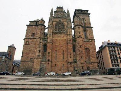 La cathédrale de Rodez    ERIC CABANIS [AFP/Archives]