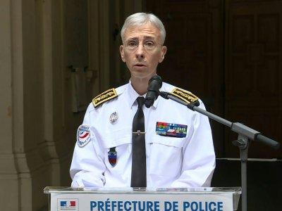 Le préfet de police de Paris Didier Lallement lors d'une conférence de presse le 4 octobre 2019    Mathieu CHAMPEAU [AFP]
