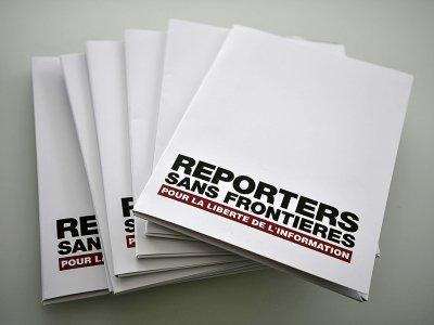 L'organisation de défense de la liberté de la presse Reporters sans frontières - PHILIPPE LOPEZ [AFP/Archives]