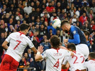 Olivier Giroud, à nouveau buteur pour la France, face à la Turquie, le 14 octobre 2019 au Stade de France - MARTIN BUREAU [AFP]