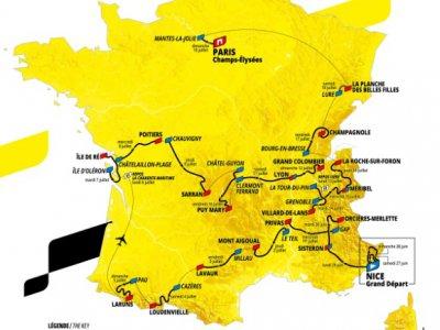 Parcours du Tour de France 2020 présenté officiellement à Paris, le 15 octobre 2020    - [ASO/AFP]